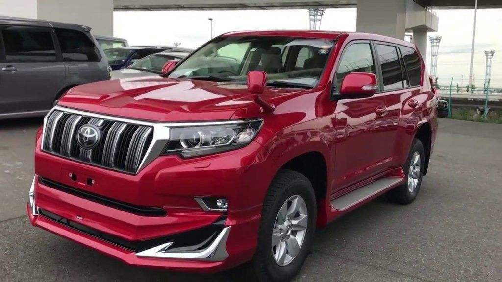 Toyota Land Cruiser Prado 2018 new model